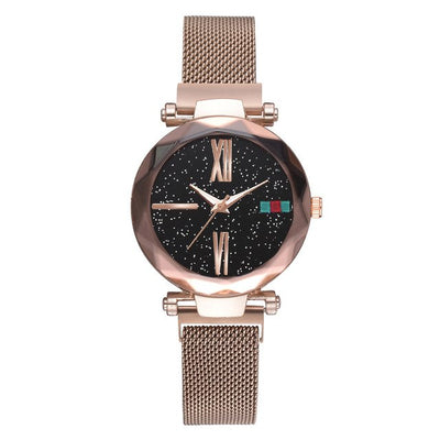 Luna Watch Magnet Watch Milan Starry Ms Watch Shaking Sound Explosion Models Spot Wholesale