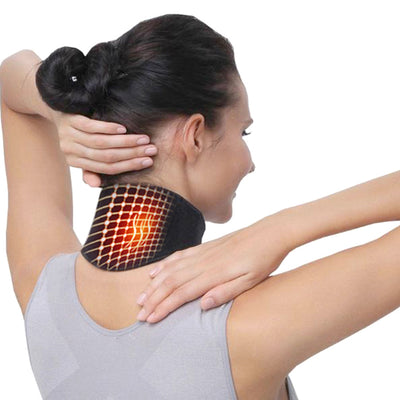 Neck Support Massager 1Pcs Tourmaline Self-heating Neck Belt Protection Spontaneous Heating Belt Body Massager