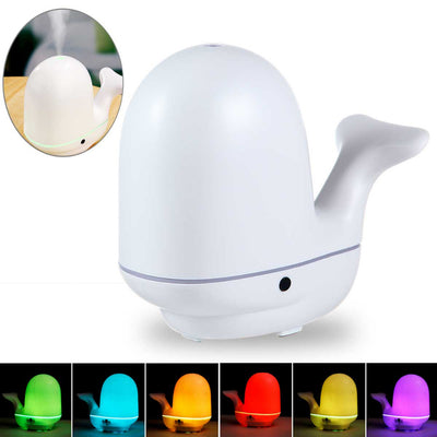 Whale Air Humidifier Ultrasonic Aroma Essential Oil Diffuser