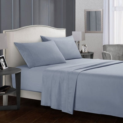 White Bedding Set Queen size Bed sheets Solid color Flat Sheet+Fitted Sheet+Pillowcase Bed Linens