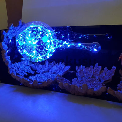 Dragon Ball Z Vegeta Led nachtlampje Kamehameha DIY Verlichting action figures Anime Kerst decoratie DIY lights DBZ led licht