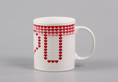 I love You Magic Mugs Temperature Changing Cup Color Changing Chameleon Mugs Heat Sensitive Cup Coffee Tea Milk Mug