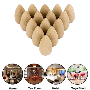Box Packed 80Pcs Backflow Incense Cones Natural Aroma
