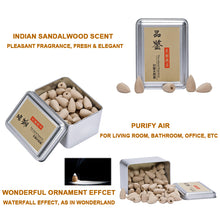 Load image into Gallery viewer, Box Packed 80Pcs Backflow Incense Cones Natural Aroma