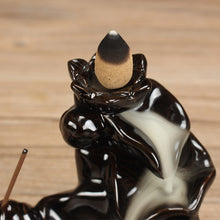 Load image into Gallery viewer, Backflow Incense Burner Home Decor Ceramic Stick Incense Holder