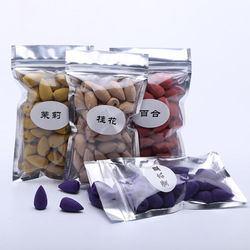 40pcs Smoke Backflow Incense Tower Cone Incense