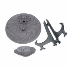 Load image into Gallery viewer, Dragon Dish Backflow Incense Burner Ceramic  +  10PCS Incense Cones