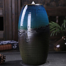 Load image into Gallery viewer, Mountain River Handicraft Incense Holder Ceramic Backflow Waterfall