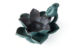 Ceramic Lotus LED Backflow Incense Burner Creative
