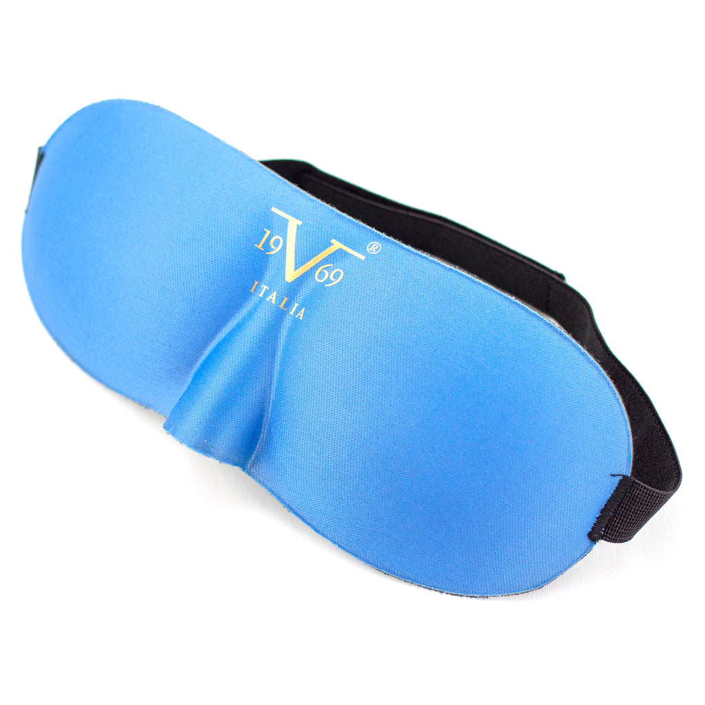 Contoured Blindfold Sleep Mask - Light Blue - Travellty