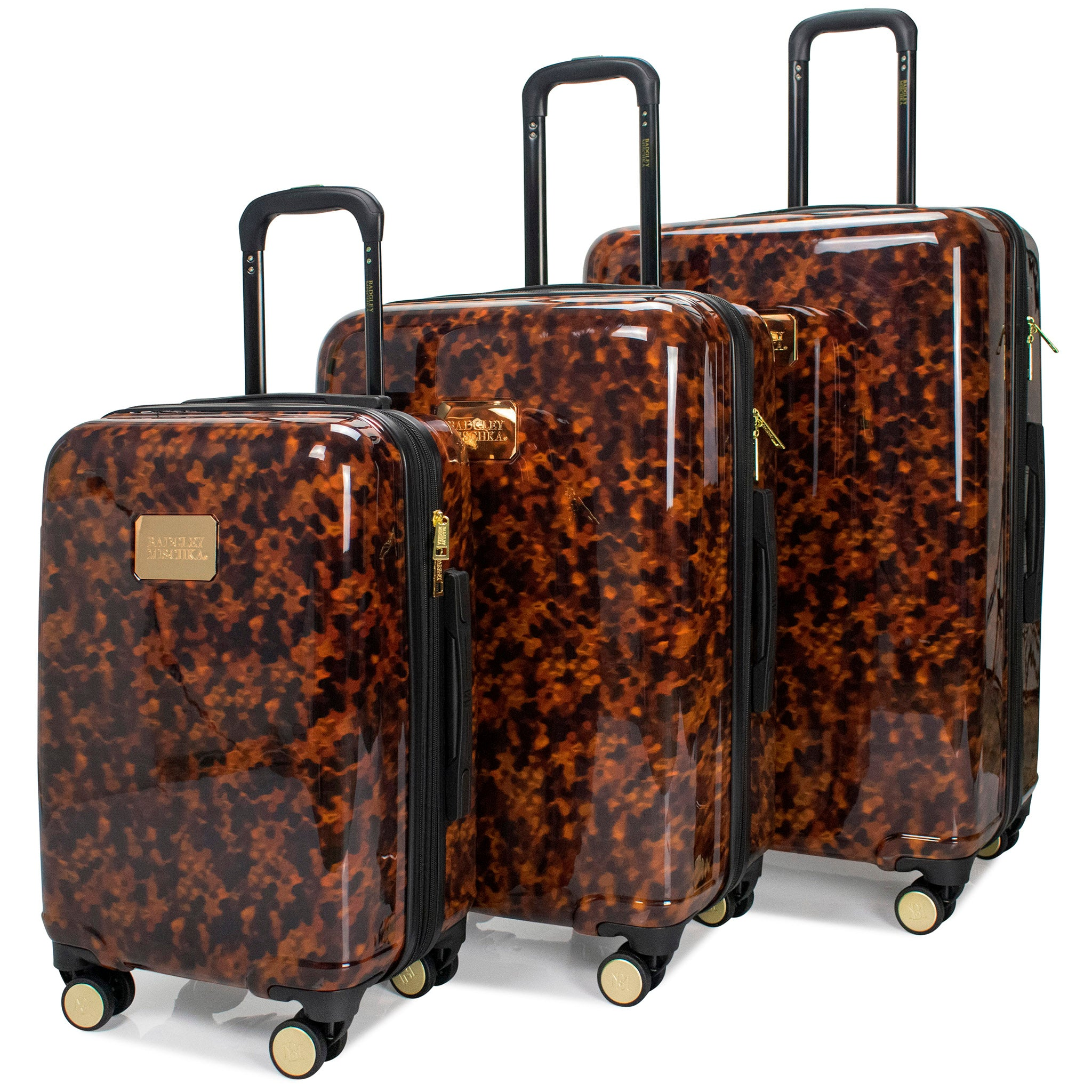 Essence 3 Piece Hard Luggage Set (Tortoise)