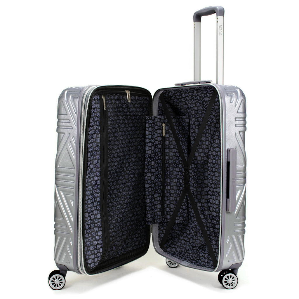 Contour 3 Piece Hard Expandable Luggage Set (Silver) - [variant_title] - Travellty