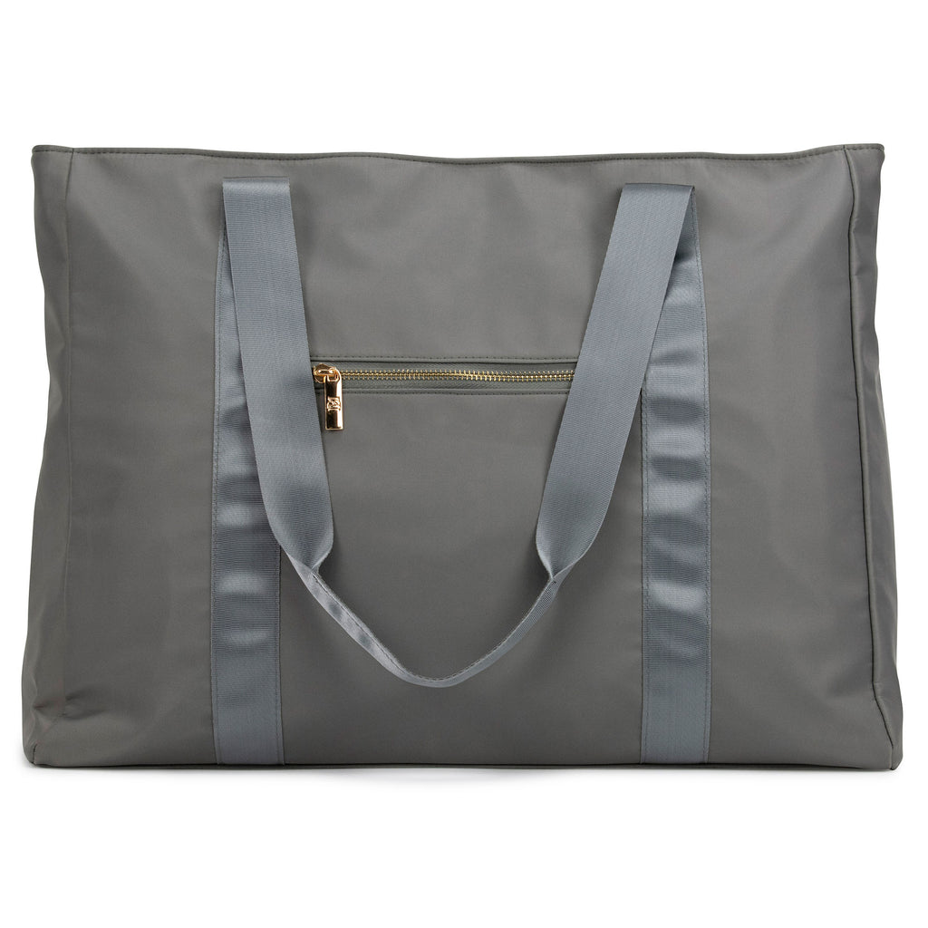 Nylon tote bag (Grey)