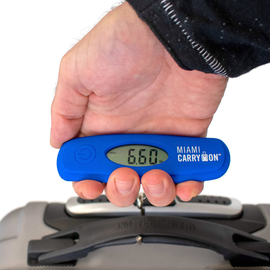 Digital Luggage Scale with Stainless Steel Hook - [variant_title] - Travellty