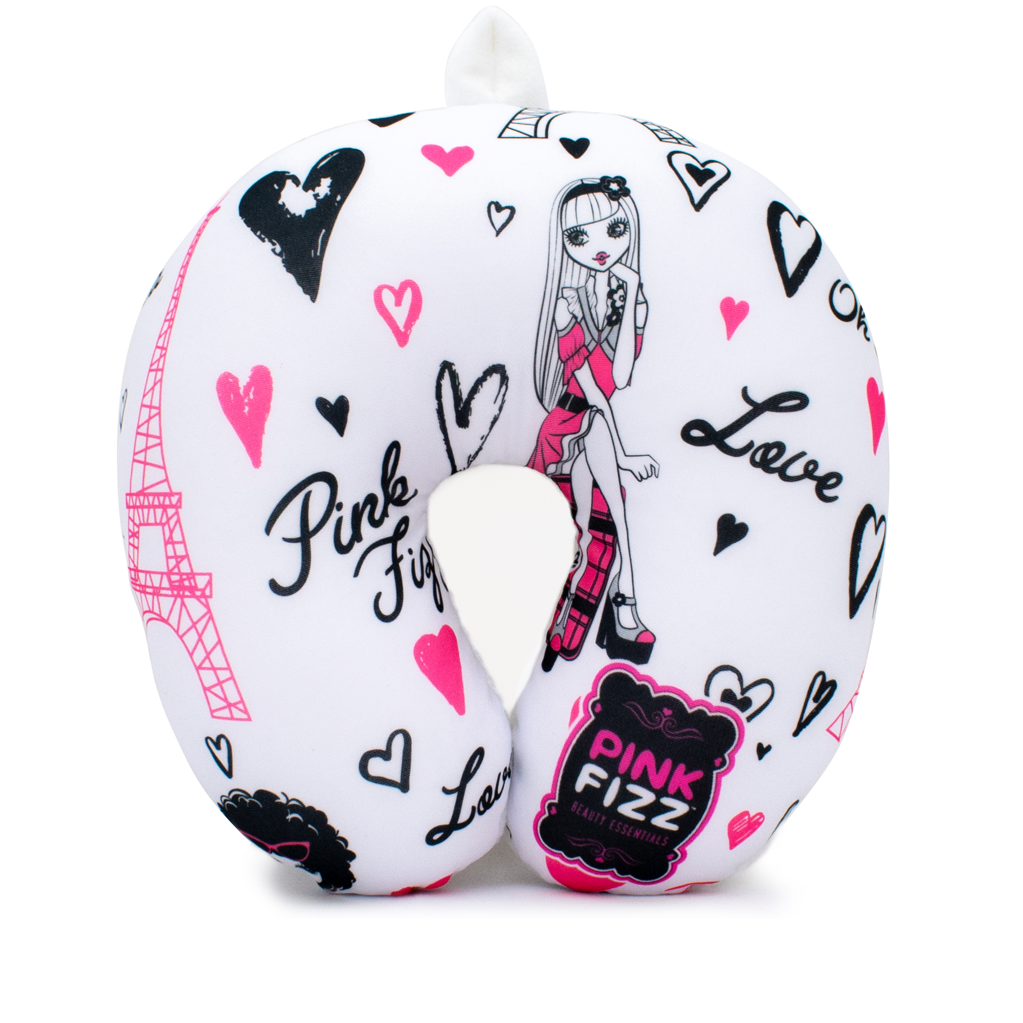 Microbeads Neck Pillow for Girls - Paris - Travellty