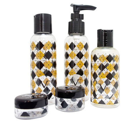 TSA Approved Bottle 5 Piece Set - Boutique - Travellty