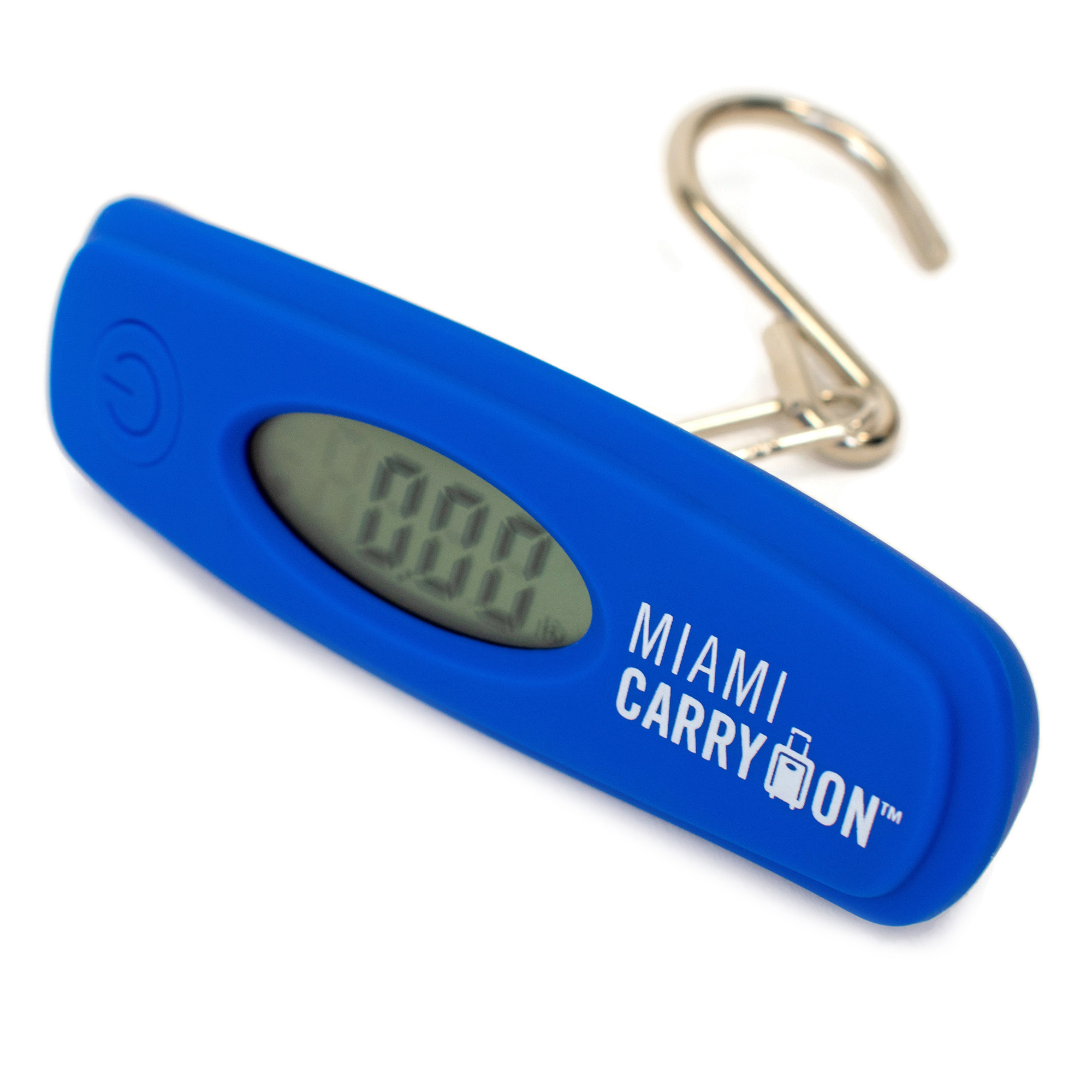 Digital Luggage Scale with Stainless Steel Hook - Blue - Travellty