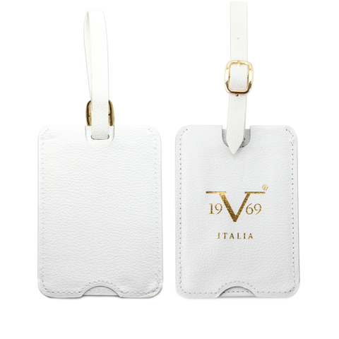 Pull-out Vegan Leather Luggage Tags Set - [variant_title] - Travellty