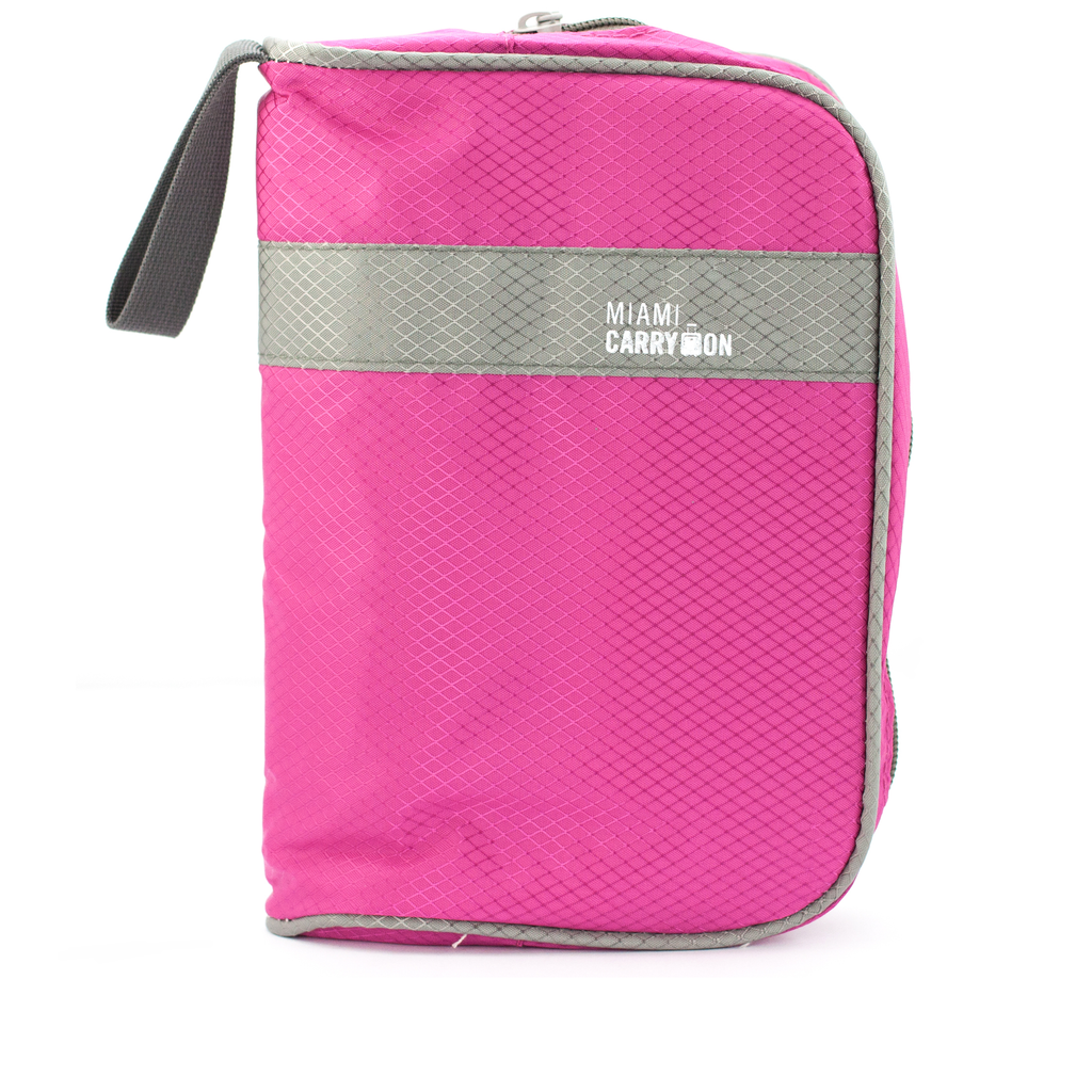 Travel Smart Cosmetics and Toiletry Handbag - Pink - Travellty