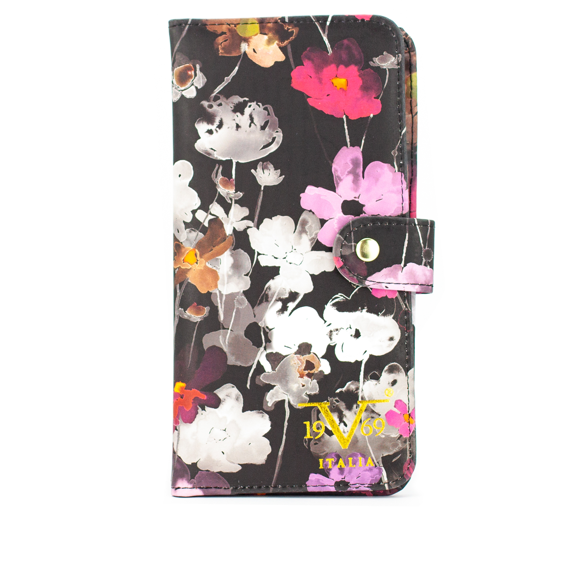 RFID Blocking Passport Cover and Wallet - Watercolor Flowers - Travellty