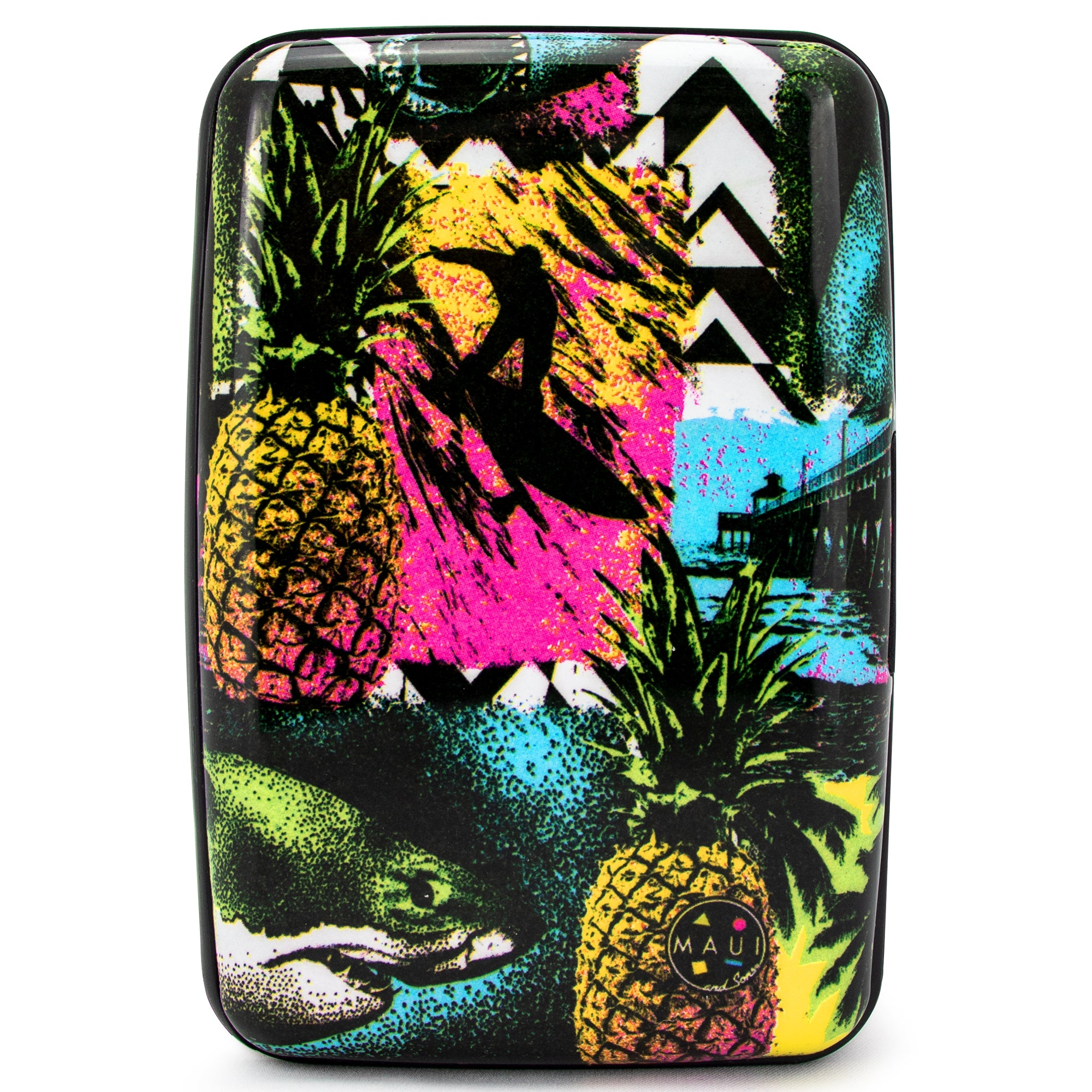 Surfer RFID Wallet & Credit Card Holder - Pineapple Surfer - Travellty