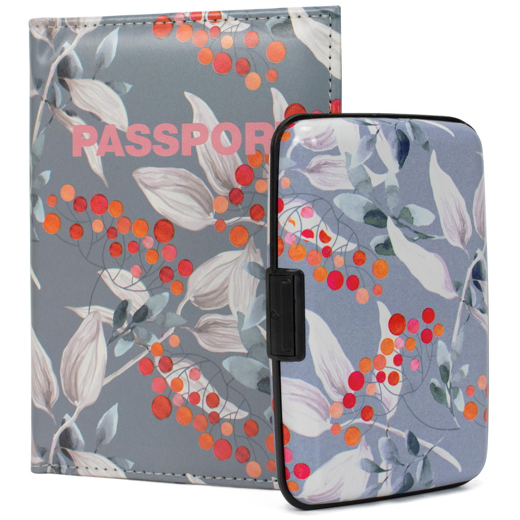 RFID Wallet & Passport Cover Set