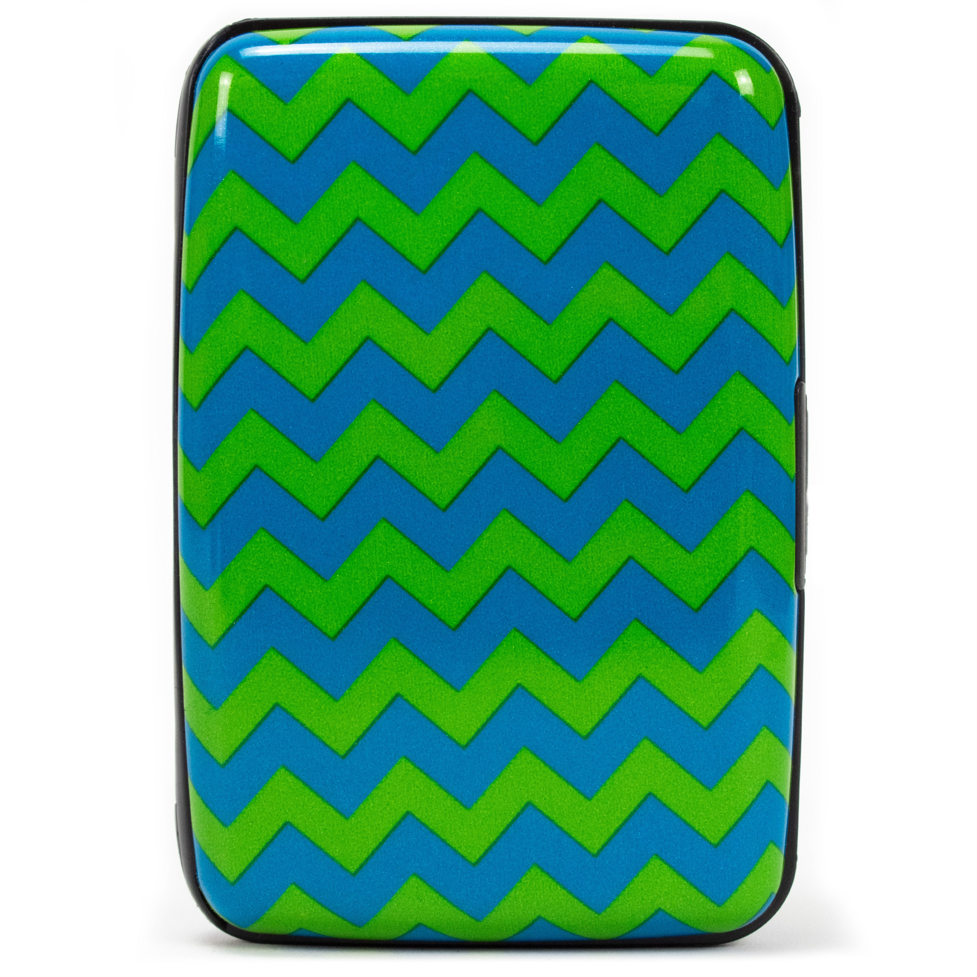 Collection RFID Wallet & Credit Card Case - Chevron - Travellty