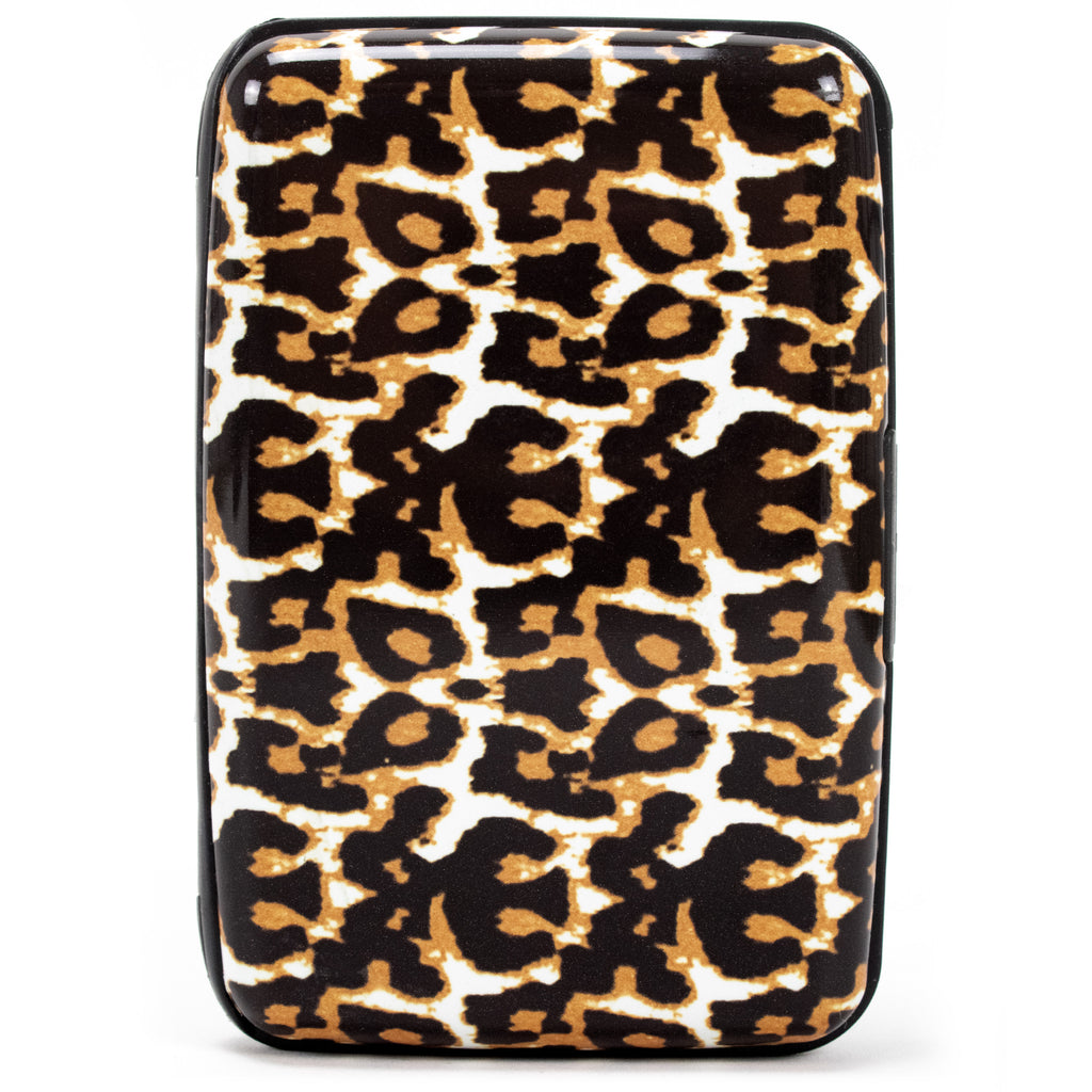 Collection RFID Wallet & Credit Card Case - Leopard - Travellty