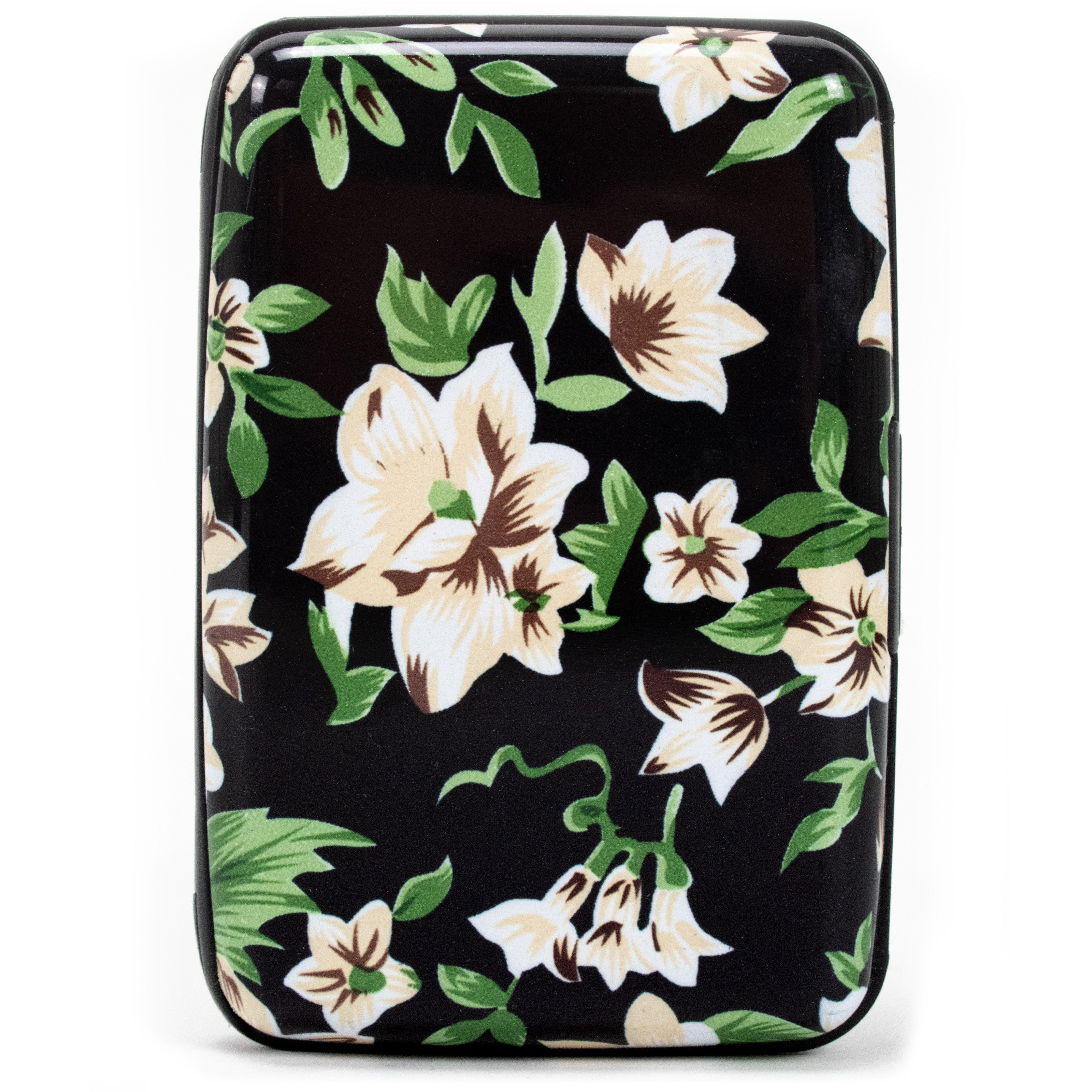 Collection RFID Wallet & Credit Card Case - Classy Flowers - Travellty