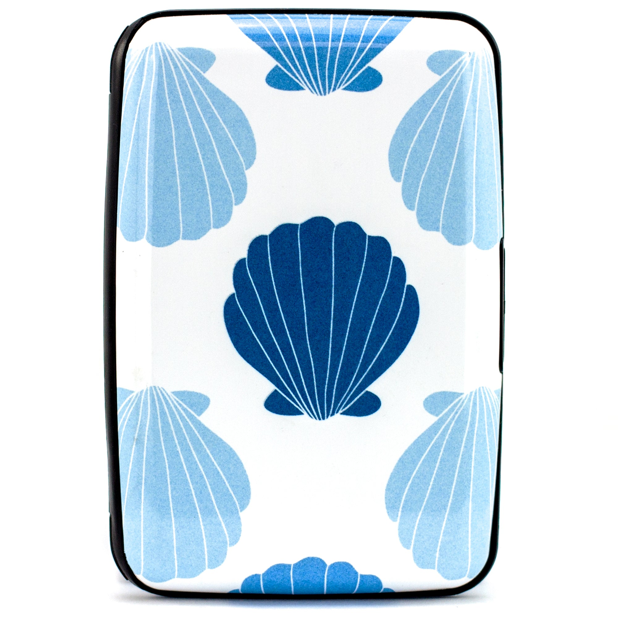 Collection RFID Wallet & Credit Card Case - Beach Seashells - Travellty