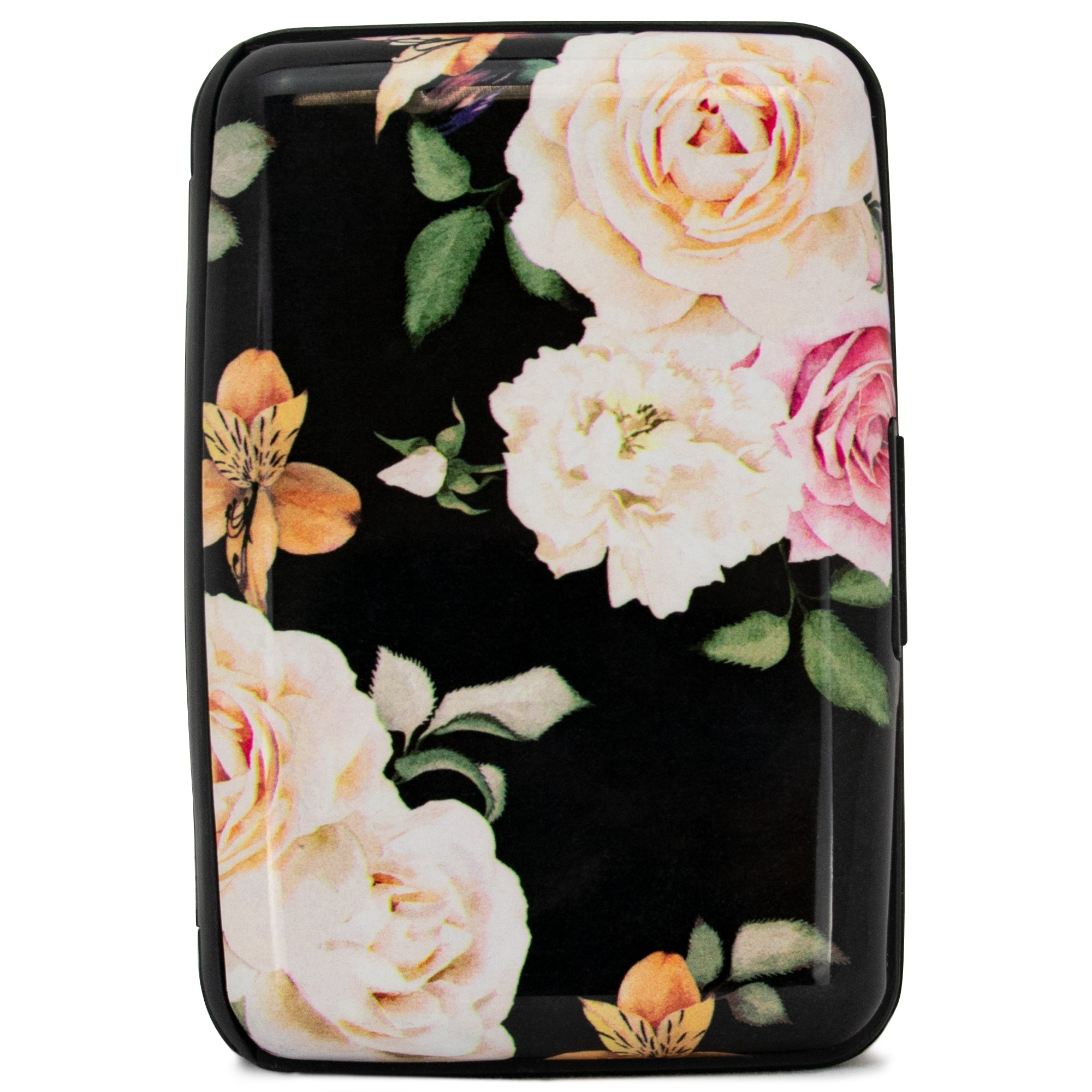 Collection RFID Wallet & Credit Card Case - Rose Garden - Travellty