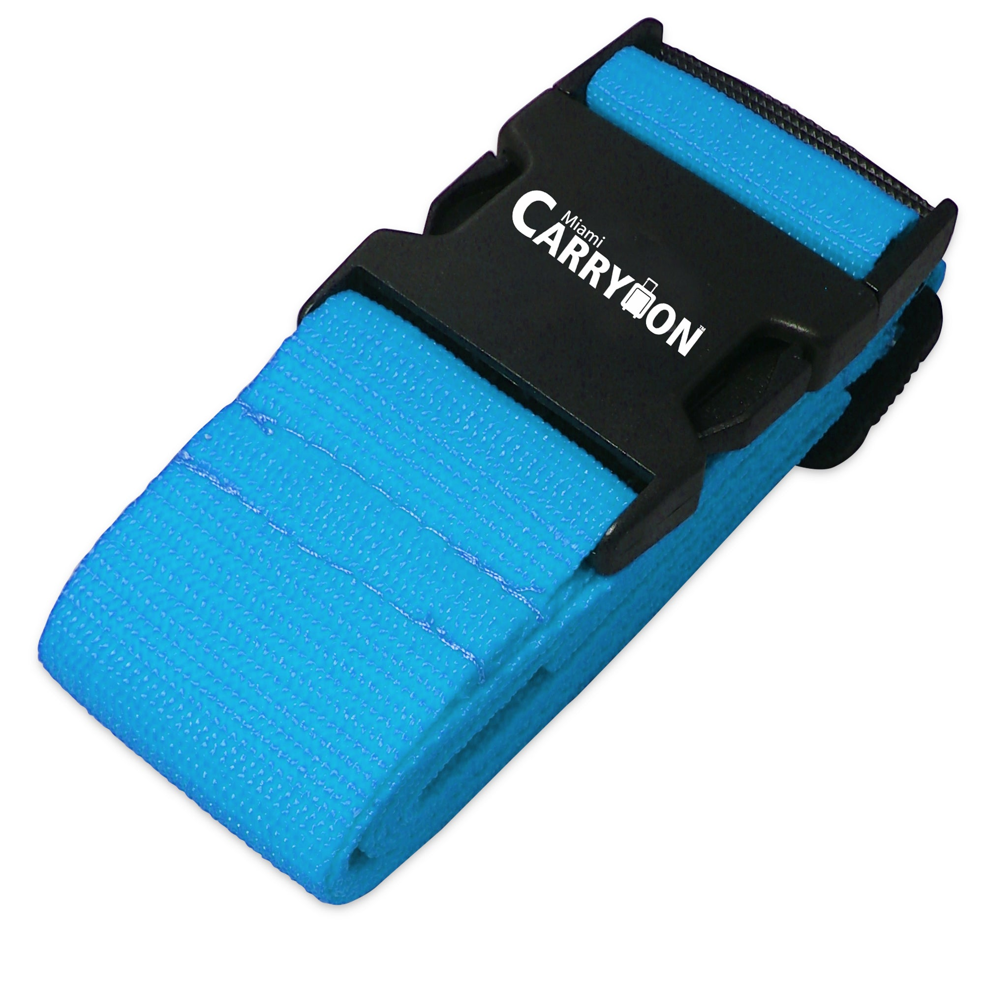 Single Luggage Strap - Light Blue - Travellty