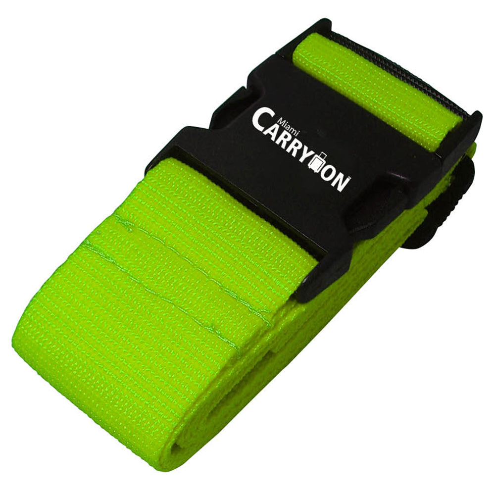 Single Luggage Strap - Green - Travellty
