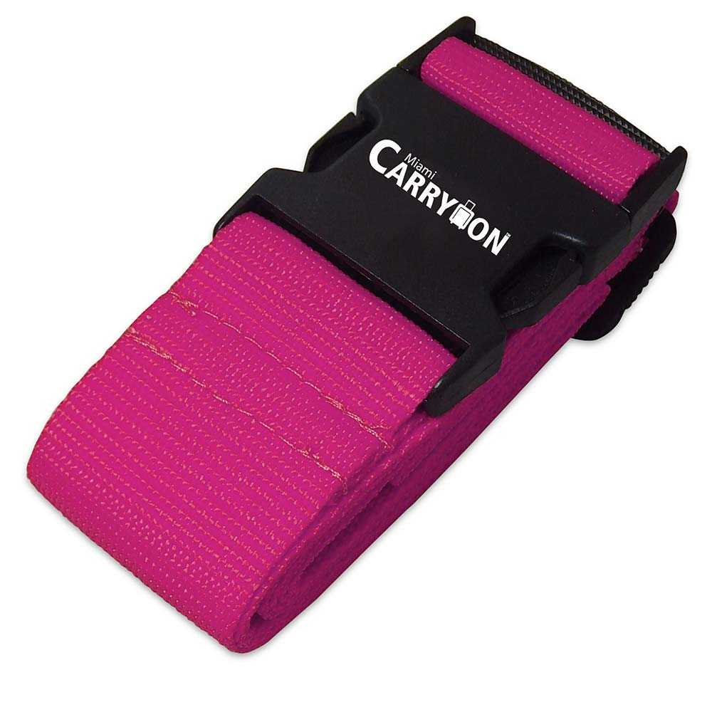 Single Luggage Strap - Magenta - Travellty