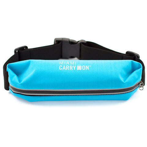Water-Resistant Workout Belt - Light Blue - Travellty