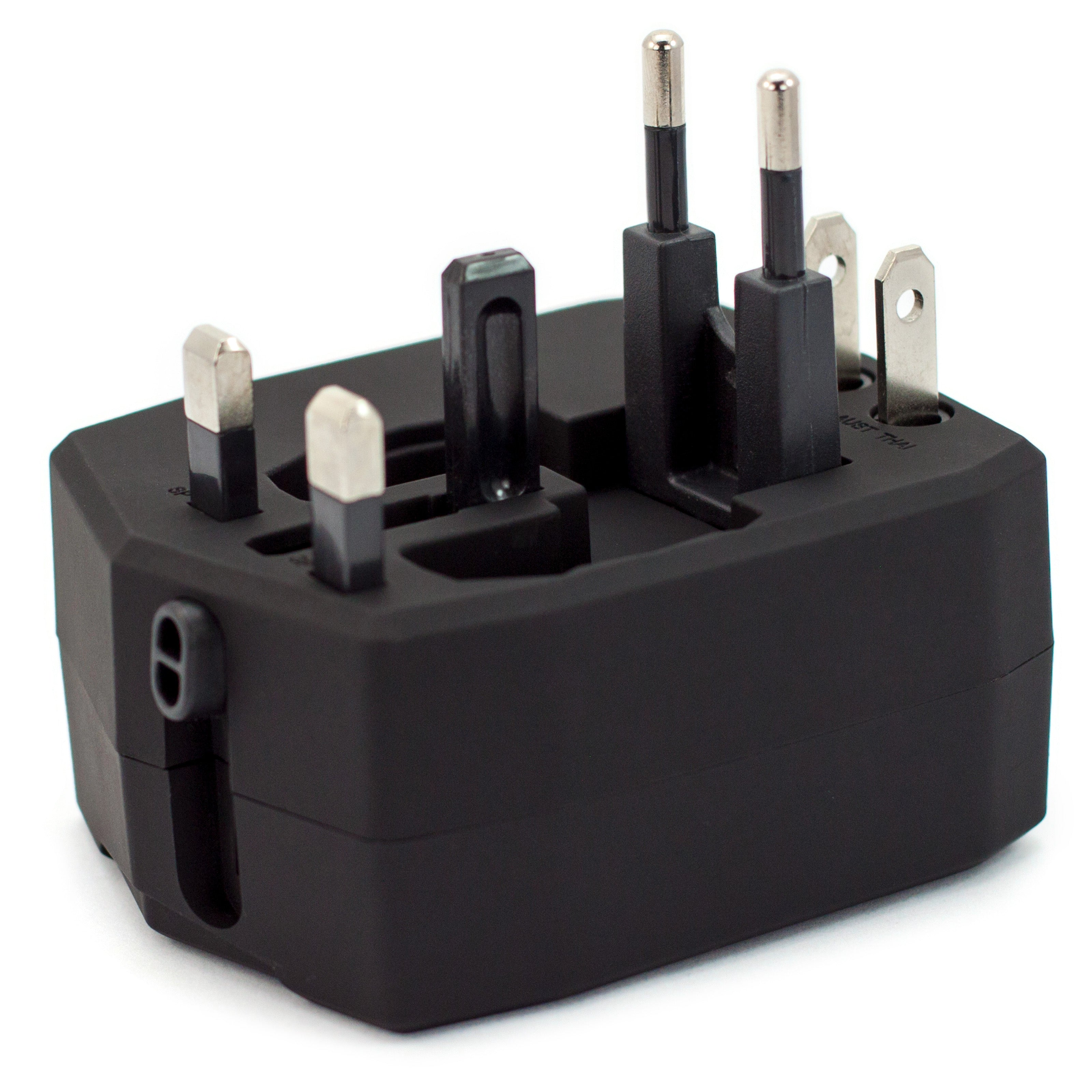 Travel Adapter with 2800mAh Power Bank and USB Ports - [variant_title] - Travellty