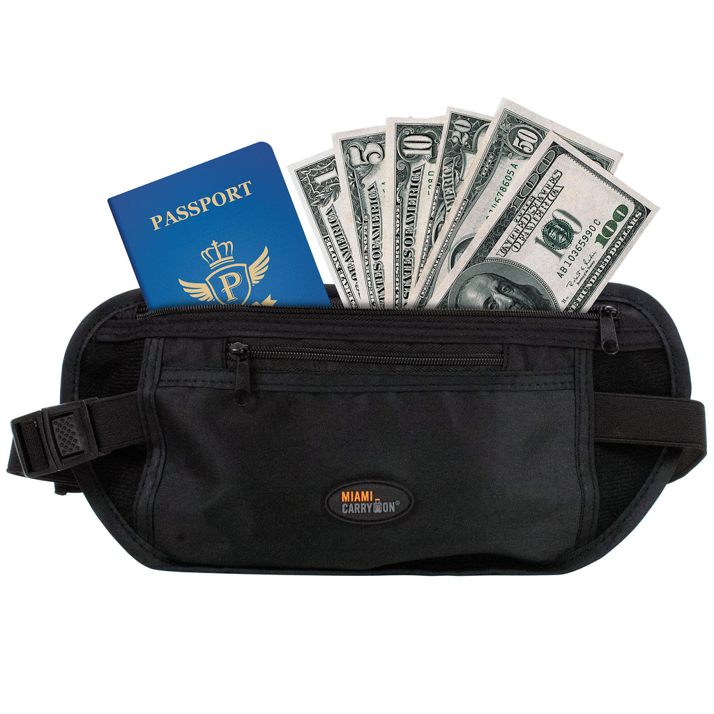Hidden Money & Passport Belt - One Pack - Travellty