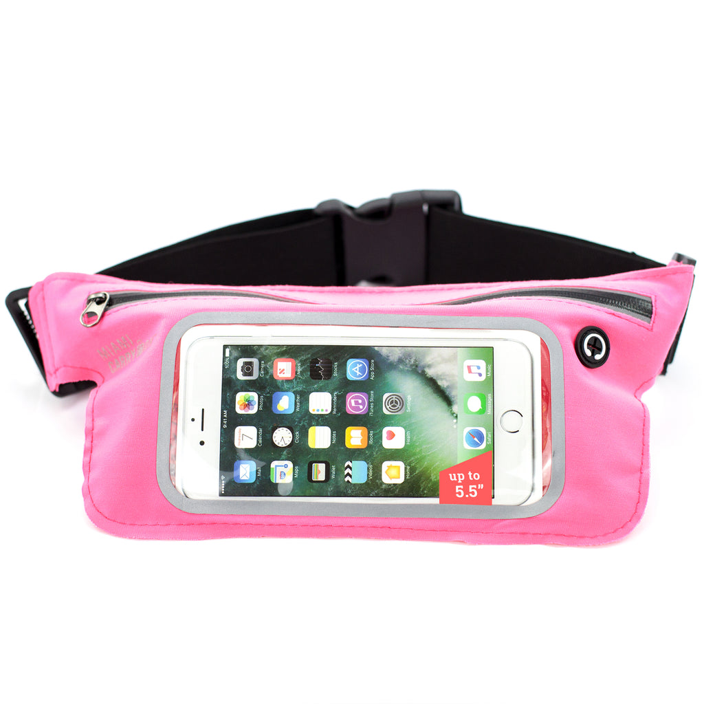 Water-Resistant Workout Belt for Smartphones - Pink - Travellty