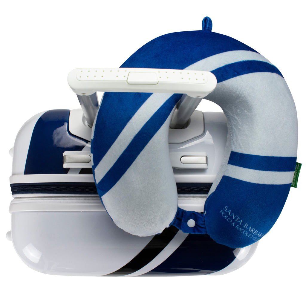 Santa Barbara Polo & Racquet Club Memory Foam Travel Neck Pillow - [variant_title] - Travellty