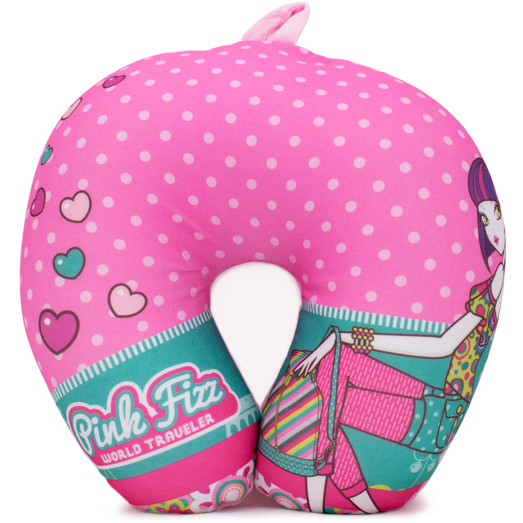 Microbeads Neck Pillow for Girls - Kiera - Travellty
