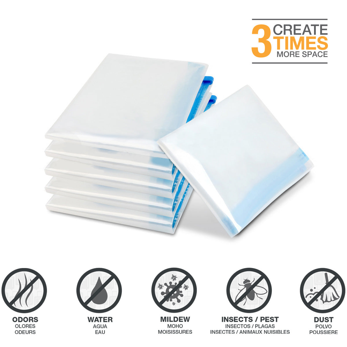 Roll-Up Compress Space Saving Bags - [variant_title] - Travellty