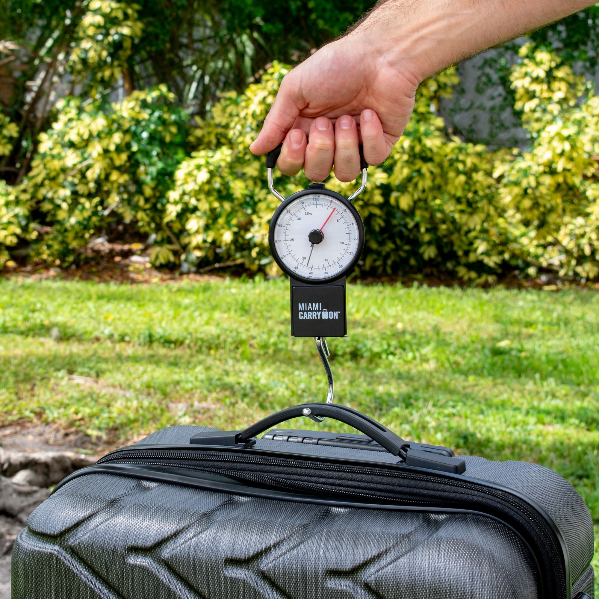 Mechanical Luggage Scale with Tape Measure - [variant_title] - Travellty