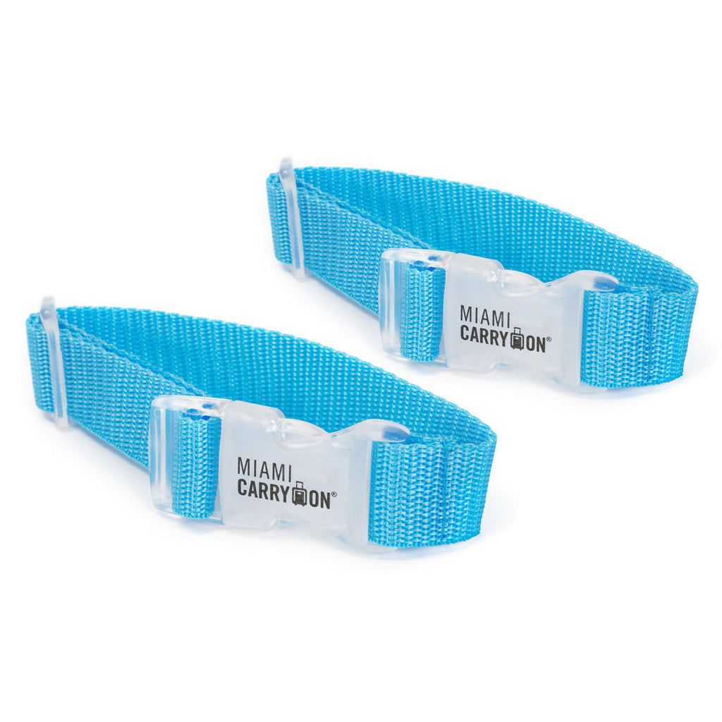 Add a Bag Strap - Blue / Two Pack - Travellty