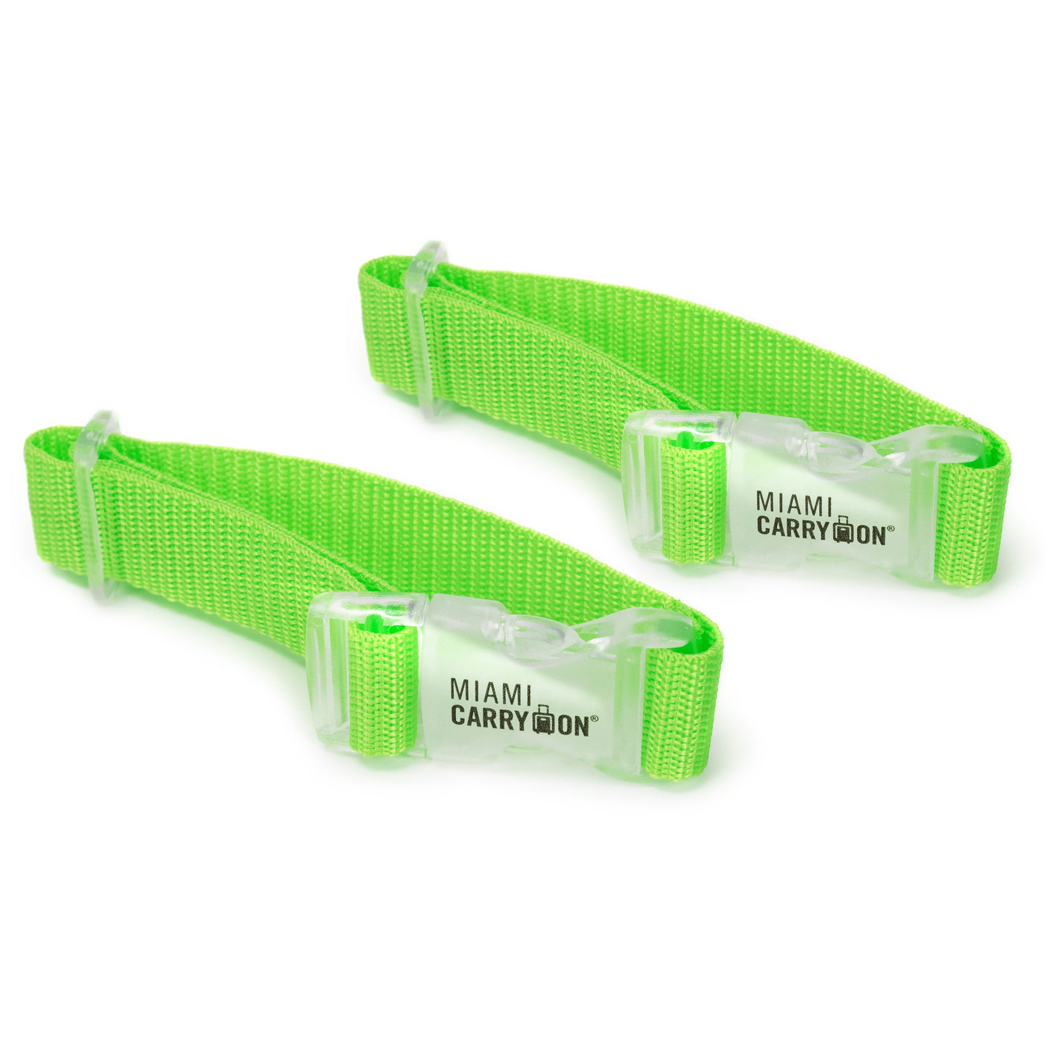 Add a Bag Strap - Green / Two Pack - Travellty