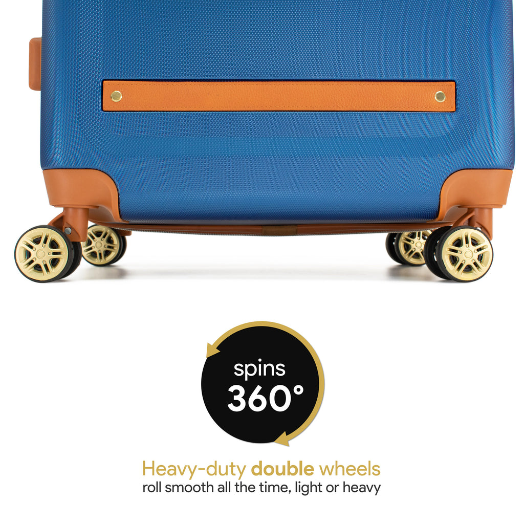 Vintage 3 Piece Luggage Set (Blue limited edition)