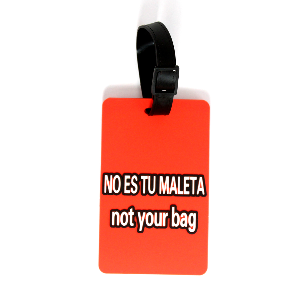 Quote Collection Luggage Tags - Tu maleta - Travellty