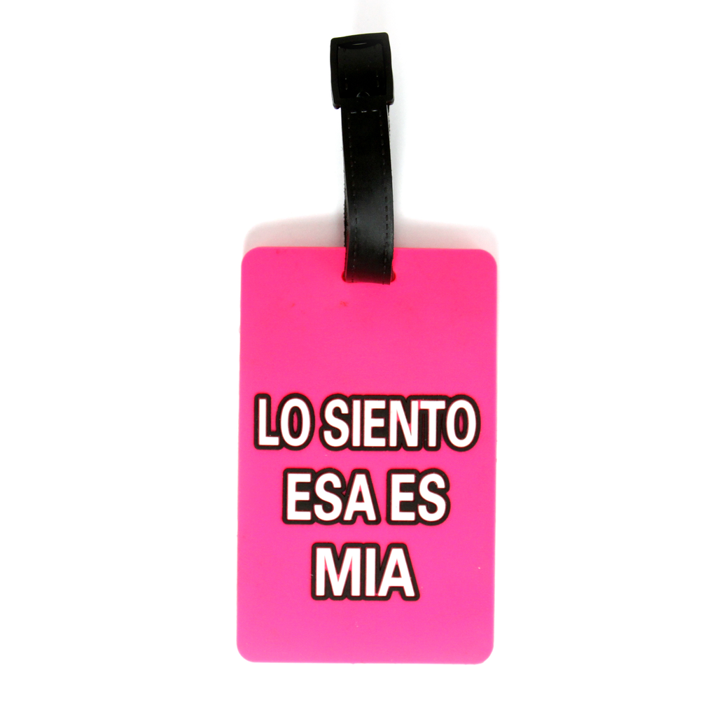 Quote Collection Luggage Tags - Lo siento - Travellty