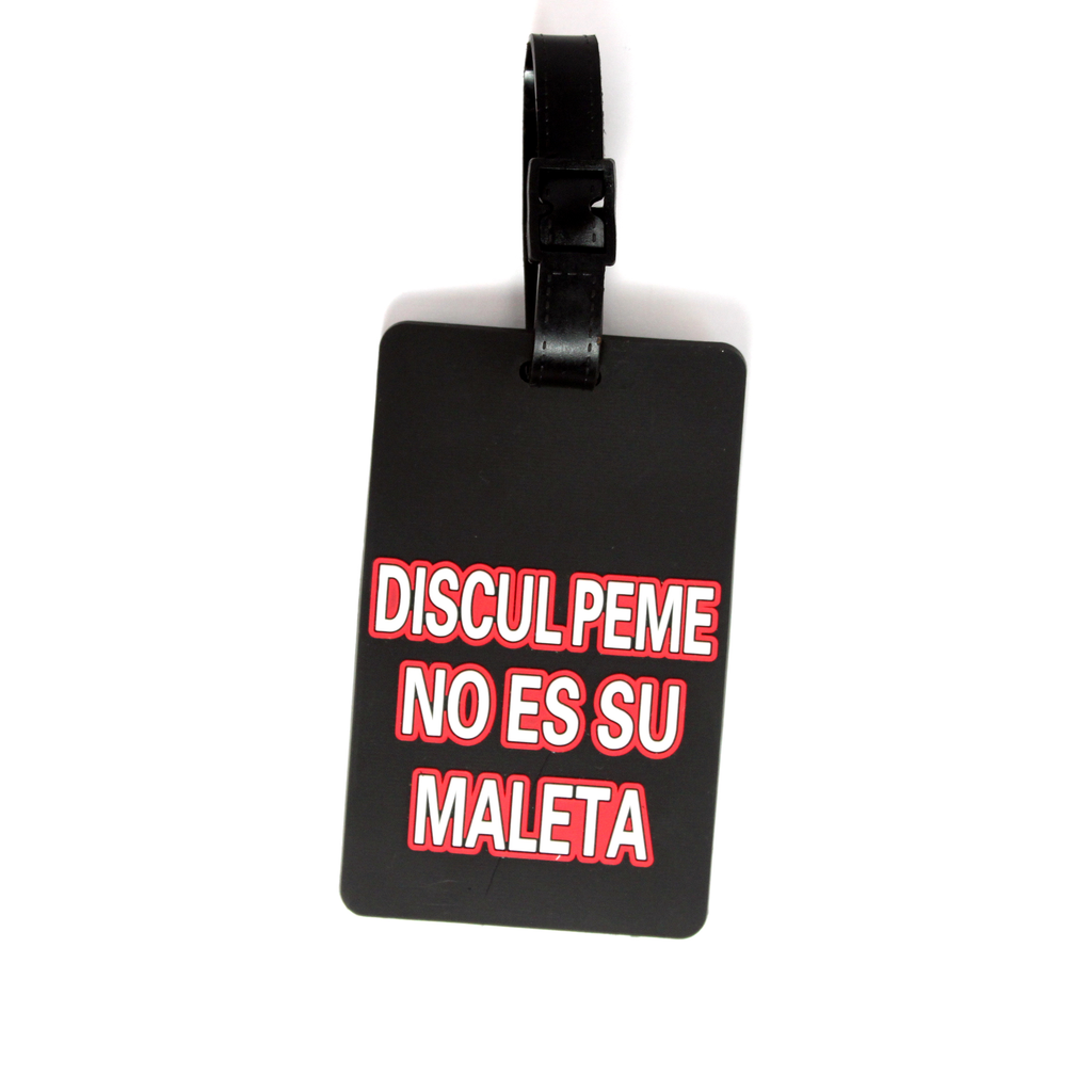 Quote Collection Luggage Tags - Disculpeme - Travellty