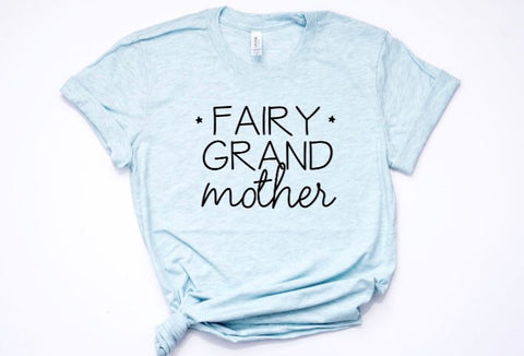 Fairy Grand Mother Disney Family Shirt in Curvy Size