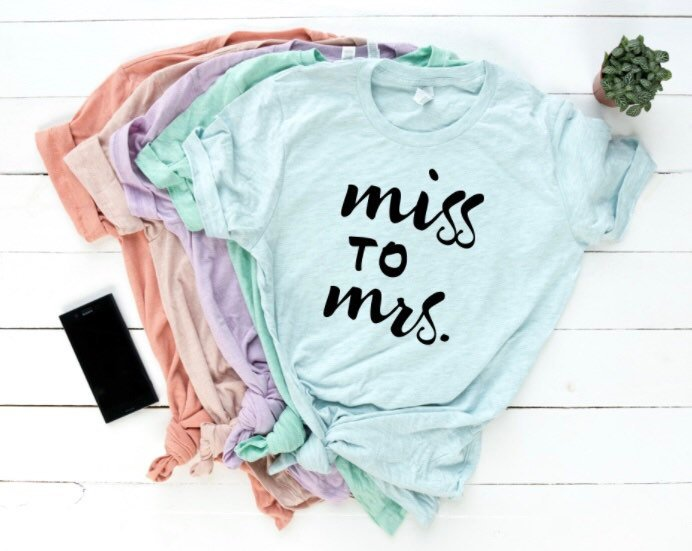 Miss to Mrs. Shirt